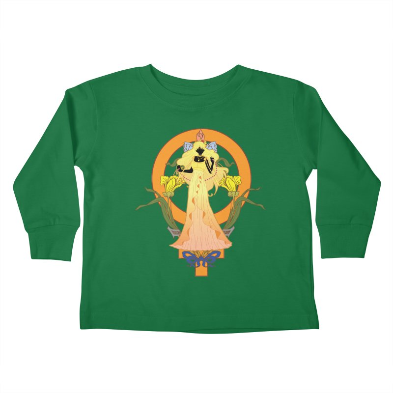Princess Venus Kids Toddler Longsleeve T-Shirt by MaruDashi's Artist Shop