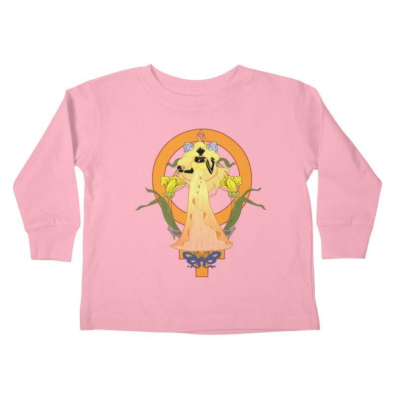 Princess Venus Kids Toddler Longsleeve T-Shirt by MaruDashi's Artist Shop