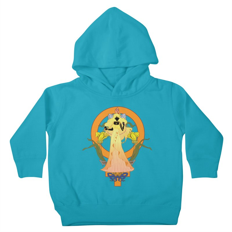Princess Venus Kids Toddler Pullover Hoody by MaruDashi's Artist Shop