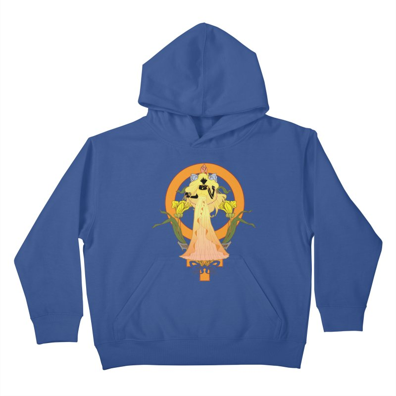 Princess Venus Kids Pullover Hoody by MaruDashi's Artist Shop