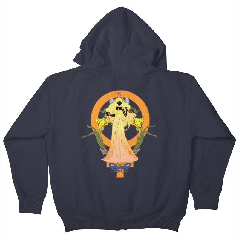Princess Venus Kids Zip-Up Hoody by MaruDashi's Artist Shop