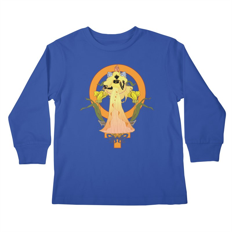 Princess Venus Kids Longsleeve T-Shirt by MaruDashi's Artist Shop