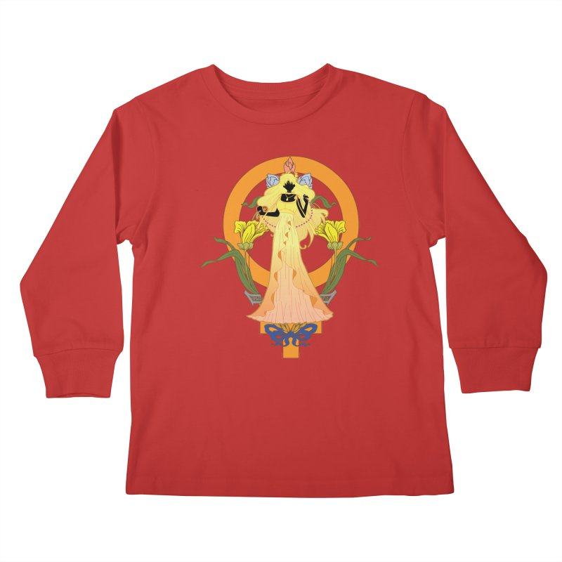 Princess Venus Kids Longsleeve T-Shirt by MaruDashi's Artist Shop