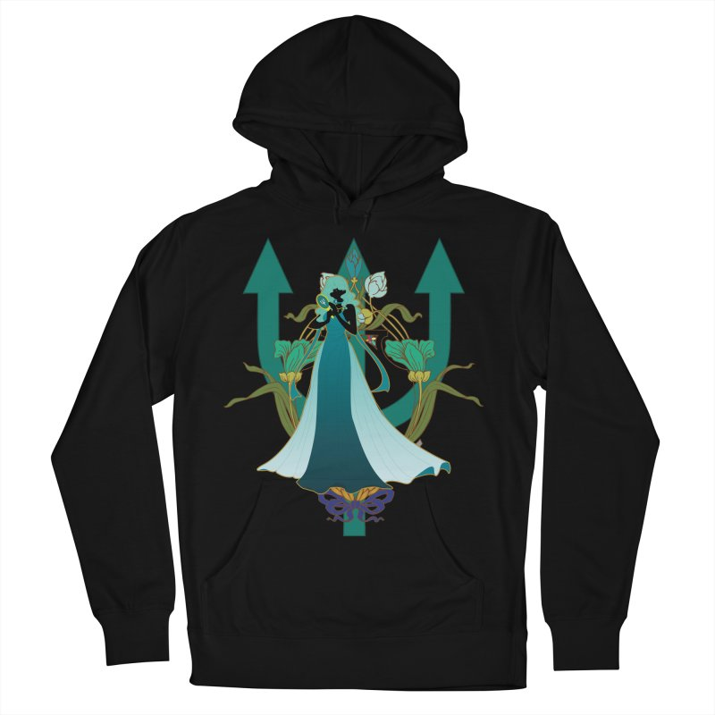 Princess Neptune Men's French Terry Pullover Hoody by MaruDashi's Artist Shop