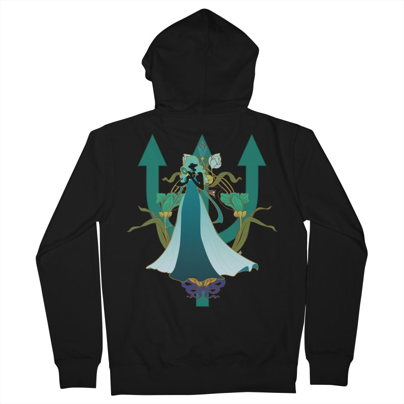 Princess Neptune Women's French Terry Zip-Up Hoody by MaruDashi's Artist Shop