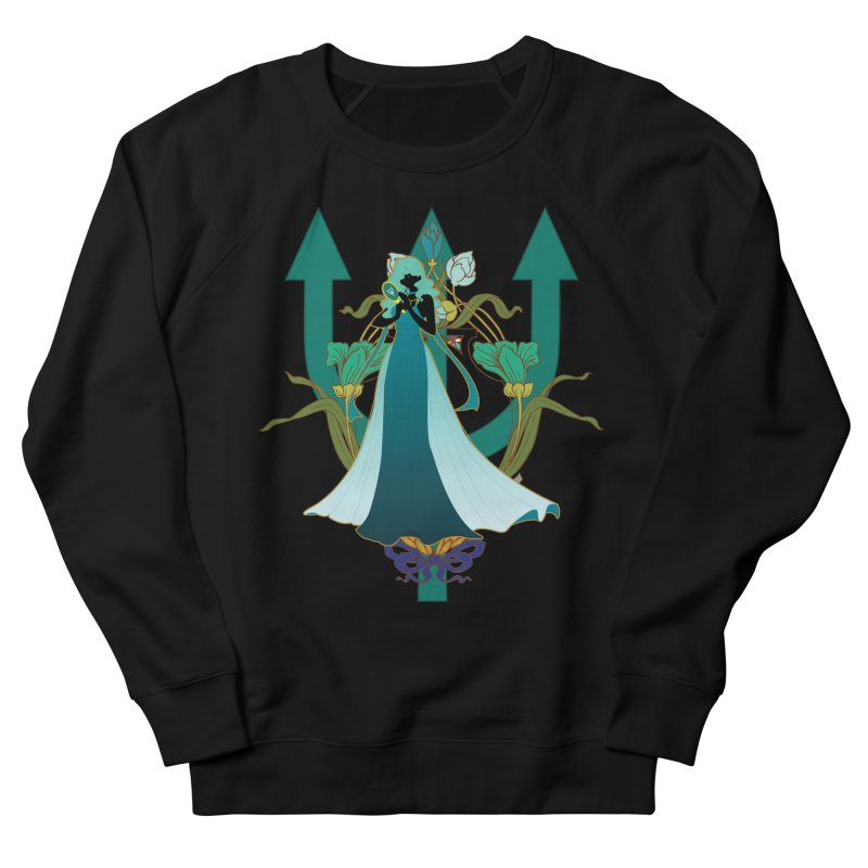 Princess Neptune Women's French Terry Sweatshirt by MaruDashi's Artist Shop