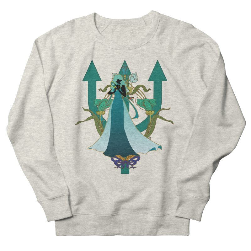 Princess Neptune Men's French Terry Sweatshirt by MaruDashi's Artist Shop
