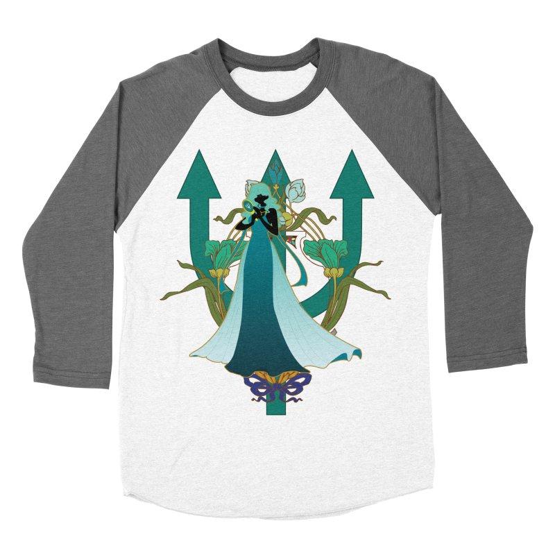 Princess Neptune Women's Baseball Triblend Longsleeve T-Shirt by MaruDashi's Artist Shop