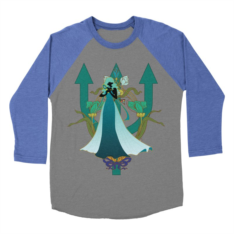 Princess Neptune Women's Baseball Triblend Longsleeve T-Shirt by MaruDashi's Artist Shop