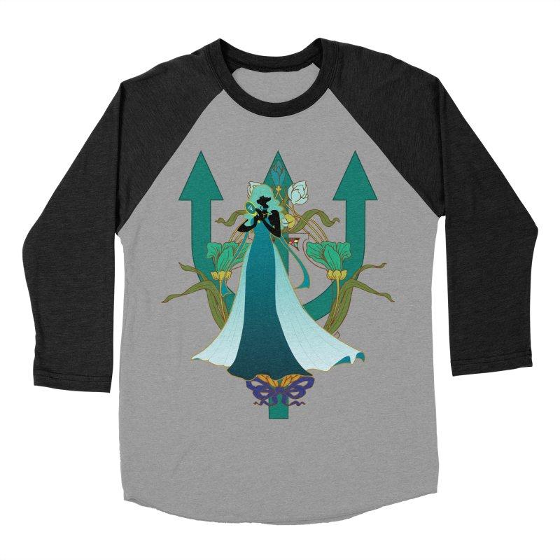 Princess Neptune Women's Baseball Triblend T-Shirt by MaruDashi's Artist Shop