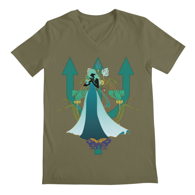 Princess Neptune Men's V-Neck by MaruDashi's Artist Shop