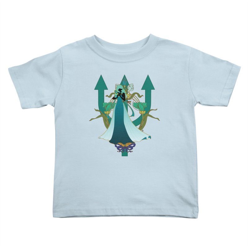 Princess Neptune Kids Toddler T-Shirt by MaruDashi's Artist Shop