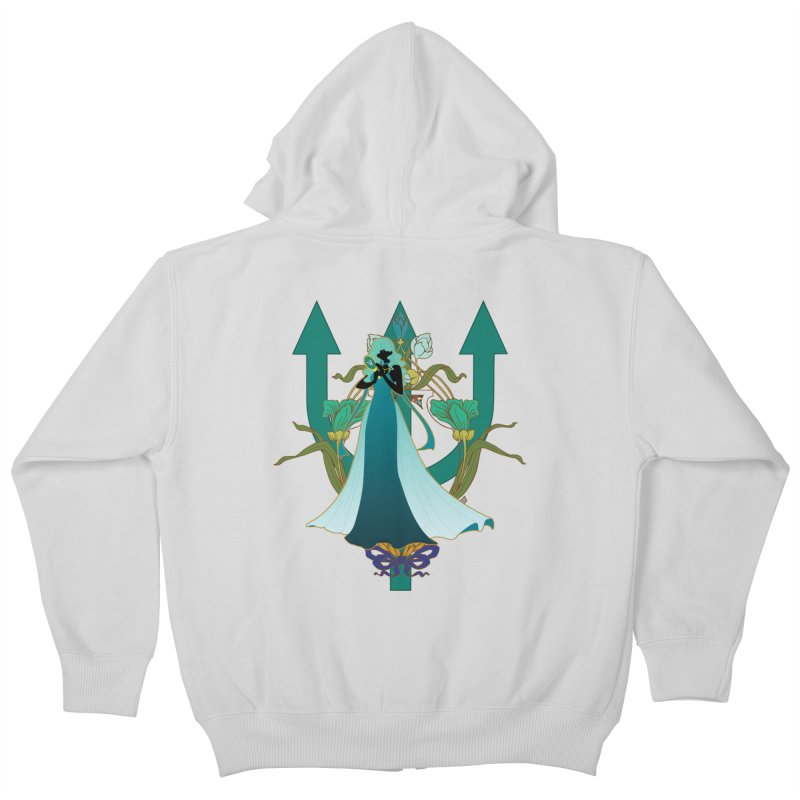 Princess Neptune Kids Zip-Up Hoody by MaruDashi's Artist Shop