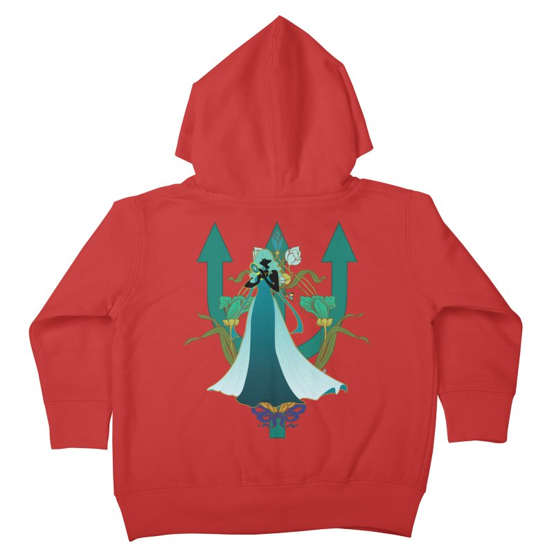 Princess Neptune Kids Toddler Zip-Up Hoody by MaruDashi's Artist Shop