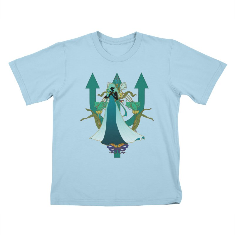 Princess Neptune Kids T-Shirt by MaruDashi's Artist Shop