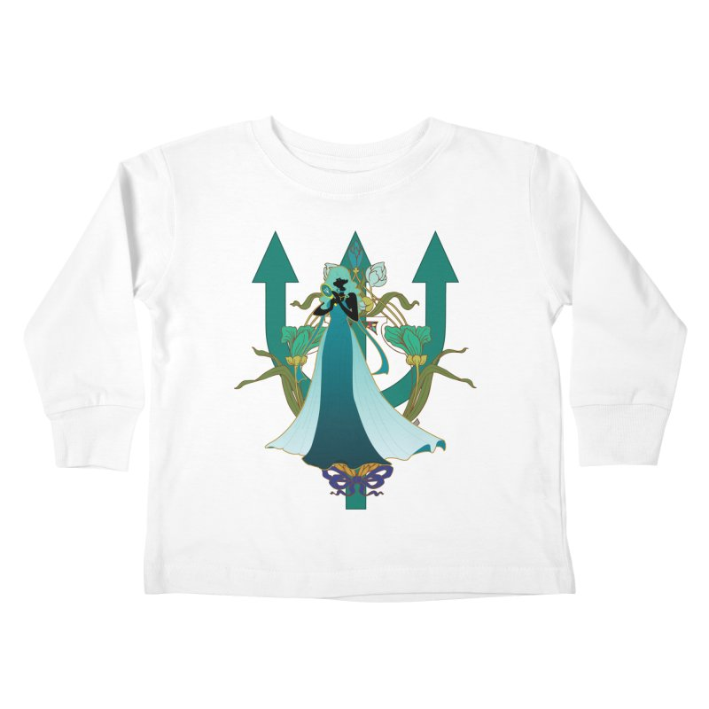 Princess Neptune Kids Toddler Longsleeve T-Shirt by MaruDashi's Artist Shop