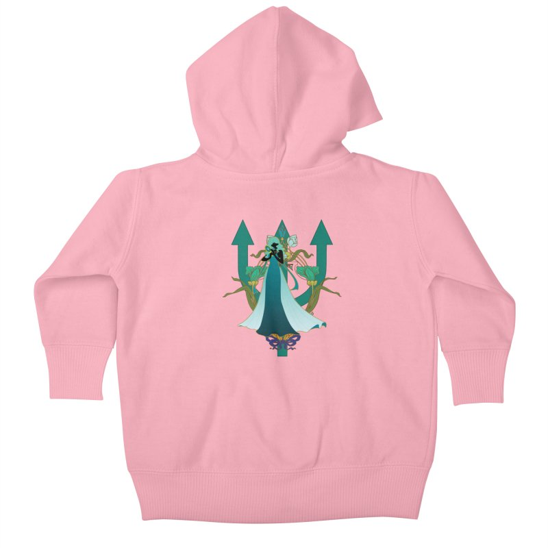 Princess Neptune Kids Baby Zip-Up Hoody by MaruDashi's Artist Shop