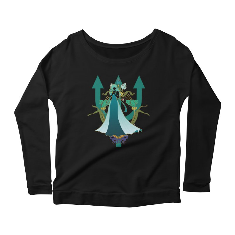 Princess Neptune Women's Scoop Neck Longsleeve T-Shirt by MaruDashi's Artist Shop