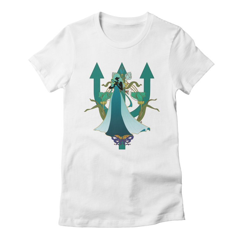 Princess Neptune Women's Fitted T-Shirt by MaruDashi's Artist Shop