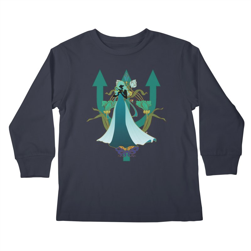 Princess Neptune Kids Longsleeve T-Shirt by MaruDashi's Artist Shop