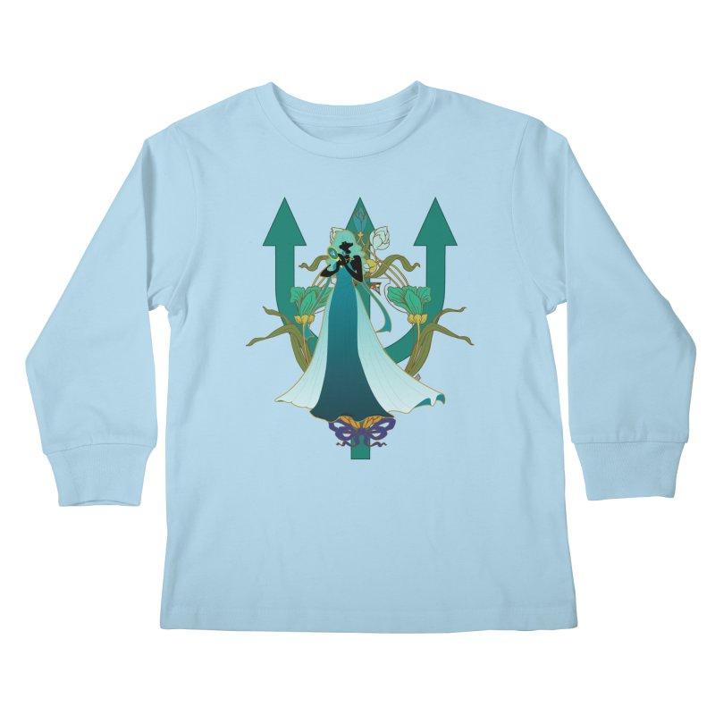 Princess Neptune Kids Longsleeve T-Shirt by MaruDashi's Artist Shop