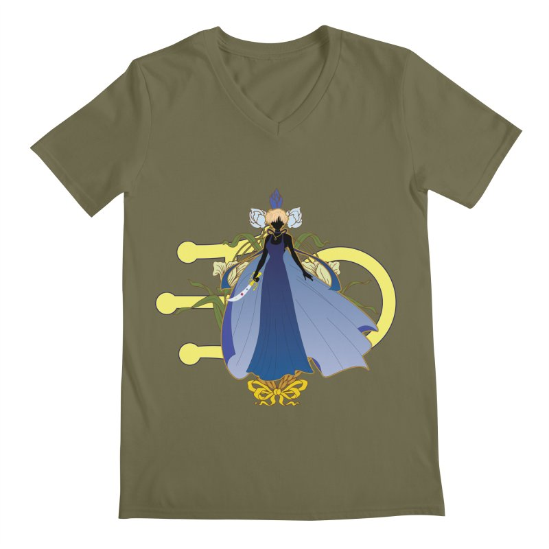 Princess Uranus Men's Regular V-Neck by MaruDashi's Artist Shop