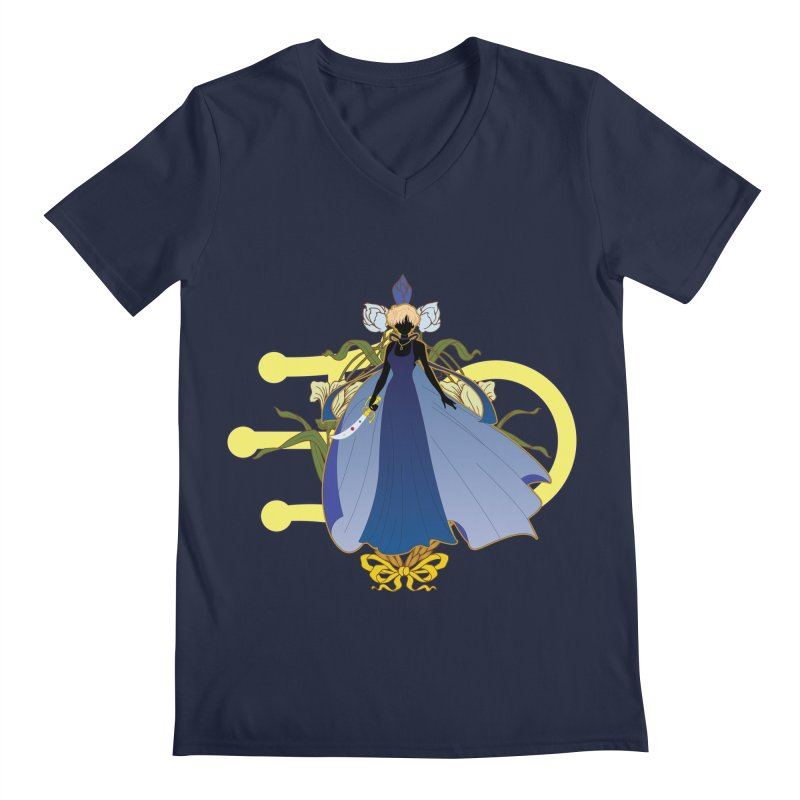 Princess Uranus Men's Regular V-Neck by MaruDashi's Artist Shop