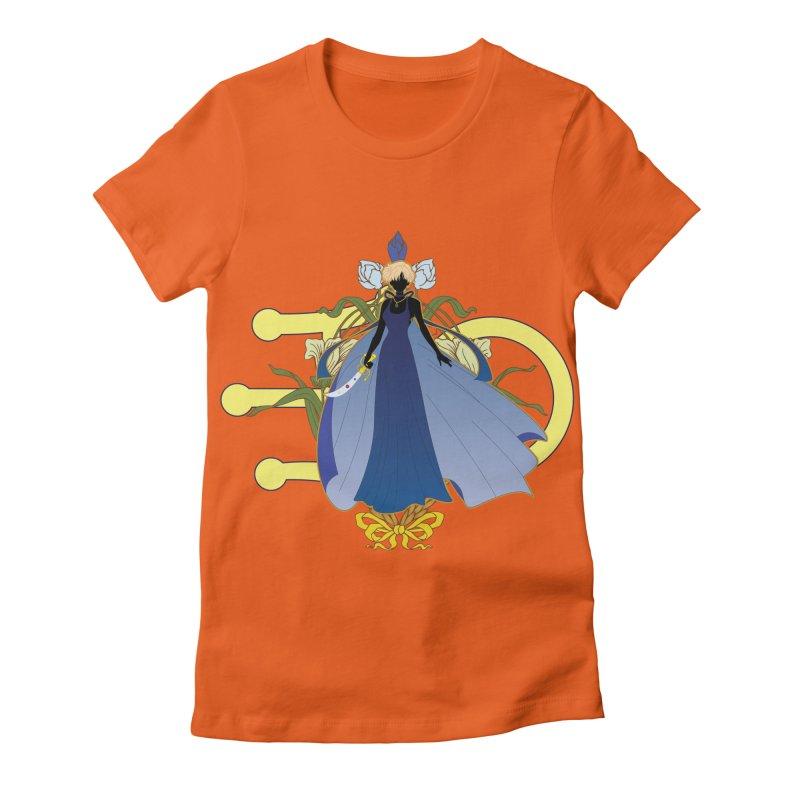 Princess Uranus Women's Fitted T-Shirt by MaruDashi's Artist Shop