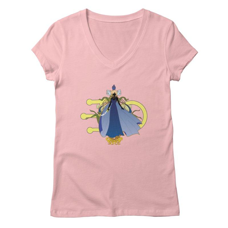 Princess Uranus Women's V-Neck by MaruDashi's Artist Shop