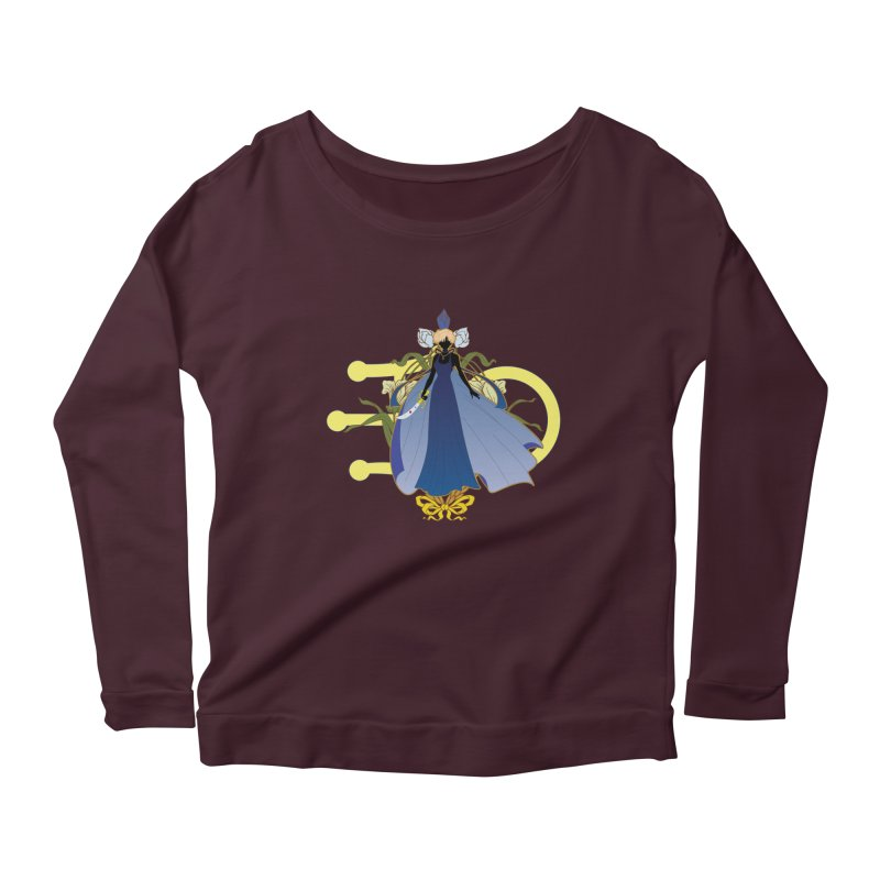 Princess Uranus Women's Longsleeve Scoopneck  by MaruDashi's Artist Shop