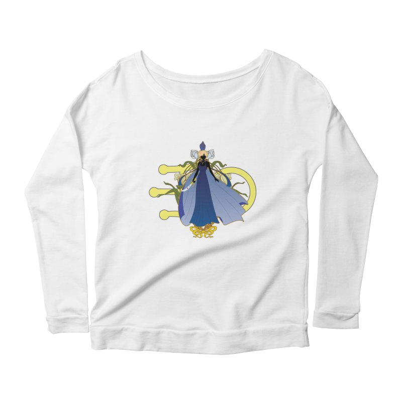 Princess Uranus Women's Scoop Neck Longsleeve T-Shirt by MaruDashi's Artist Shop