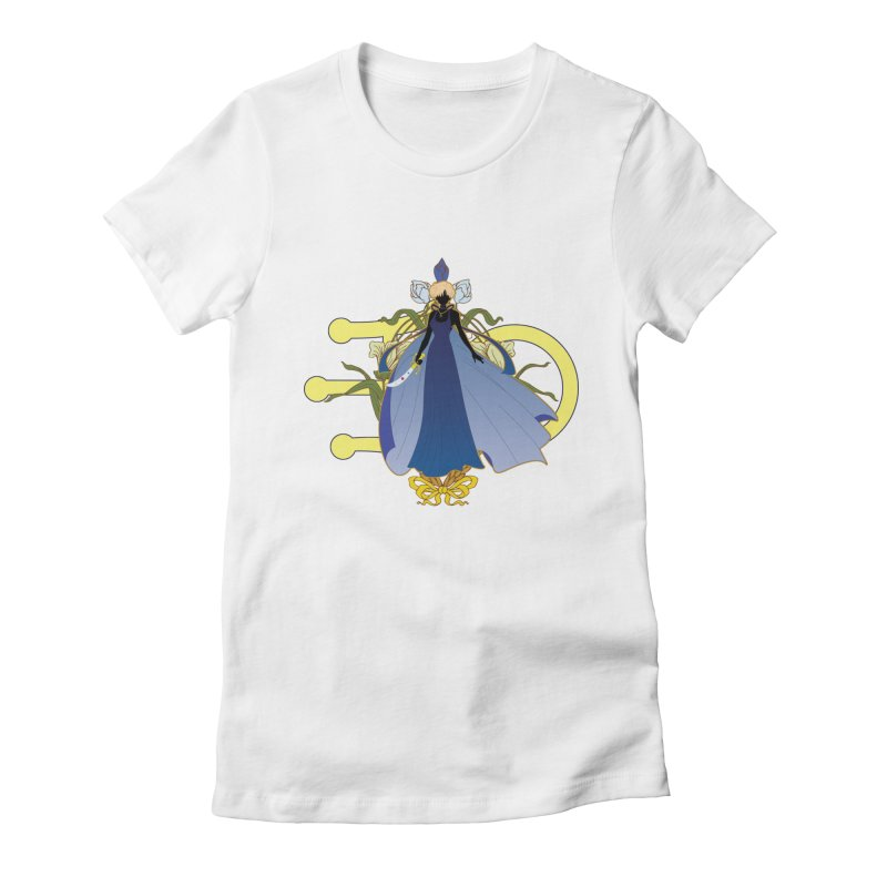 Princess Uranus Women's Fitted T-Shirt by MaruDashi's Artist Shop