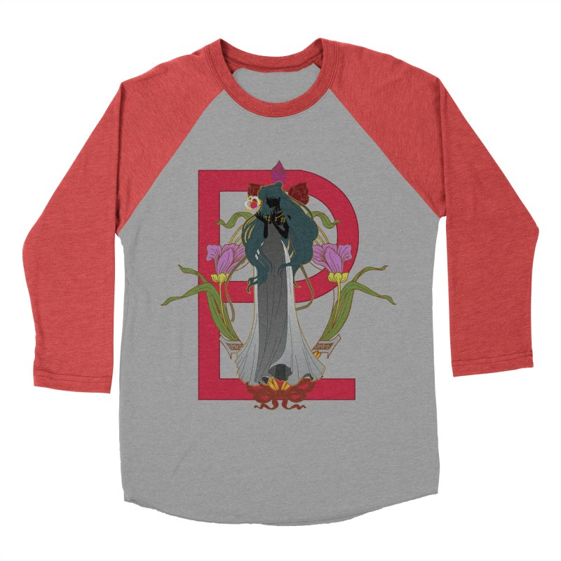 Princess Pluto Women's Baseball Triblend Longsleeve T-Shirt by MaruDashi's Artist Shop