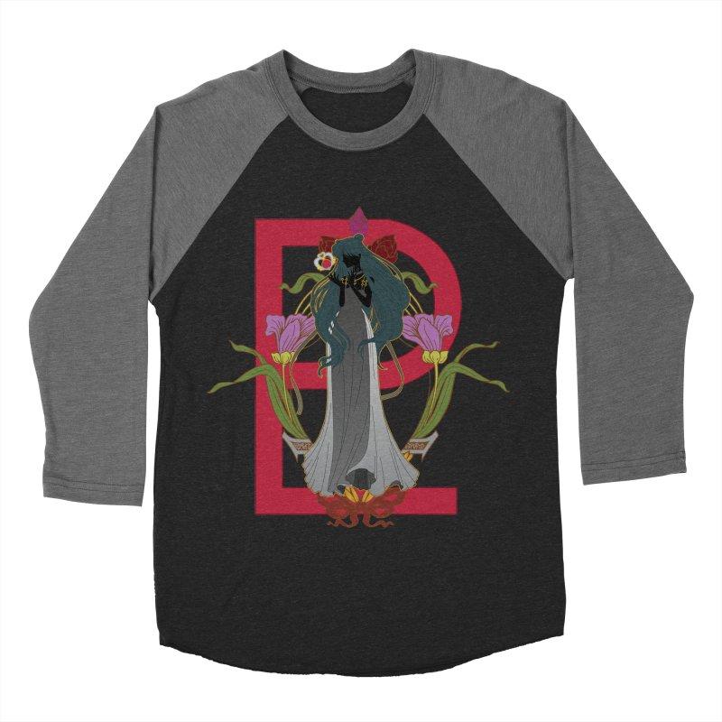 Princess Pluto Men's Baseball Triblend Longsleeve T-Shirt by MaruDashi's Artist Shop