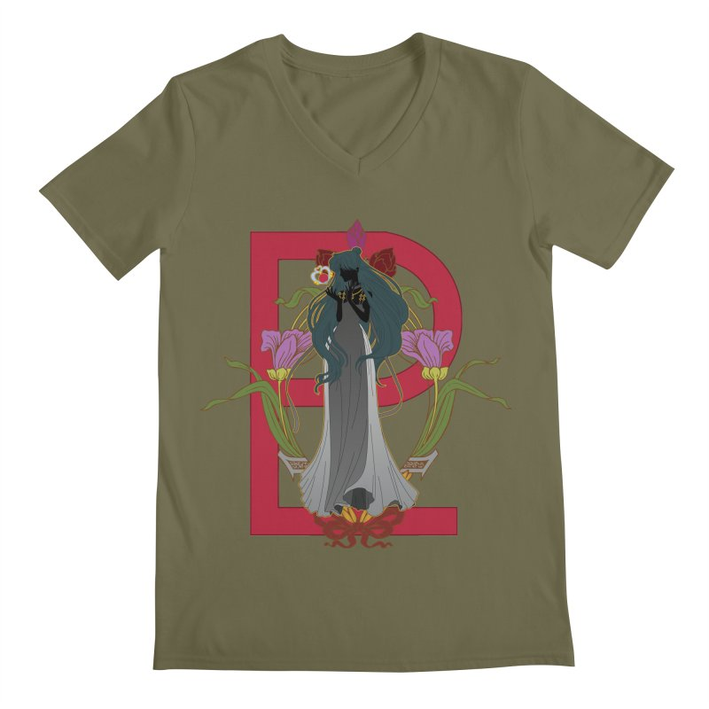 Princess Pluto Men's Regular V-Neck by MaruDashi's Artist Shop