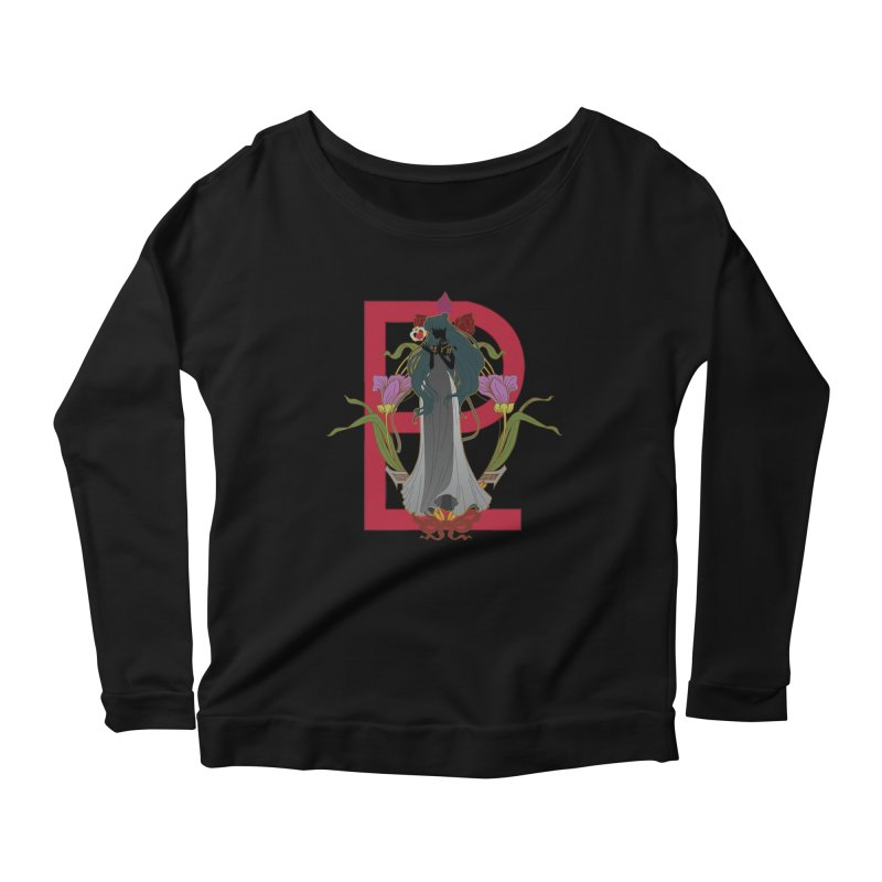 Princess Pluto Women's Longsleeve Scoopneck  by MaruDashi's Artist Shop