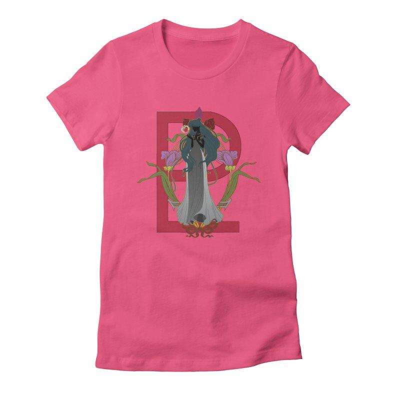 Princess Pluto Women's Fitted T-Shirt by MaruDashi's Artist Shop