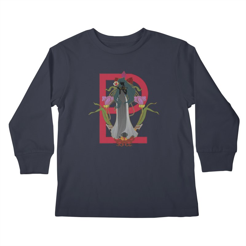Princess Pluto Kids Longsleeve T-Shirt by MaruDashi's Artist Shop