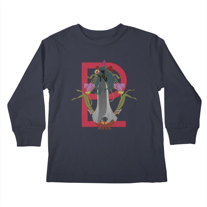 Princess Pluto Kids Longsleeve T-Shirt by MaruDashi's Artist Shop