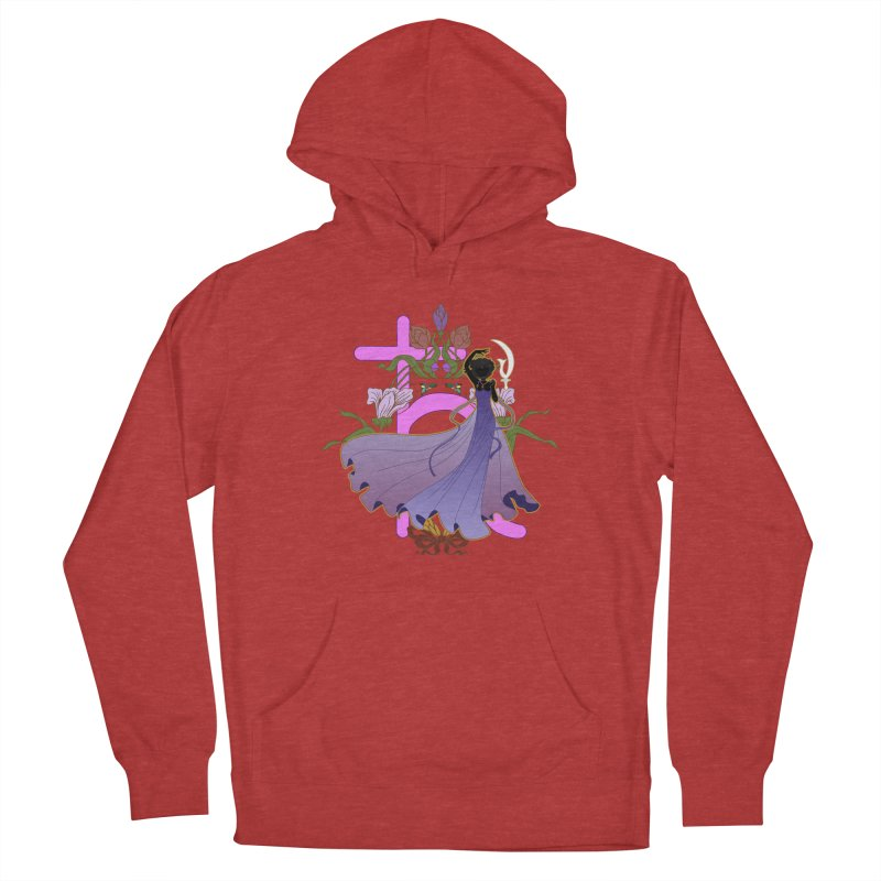 Princess Saturn Men's French Terry Pullover Hoody by MaruDashi's Artist Shop