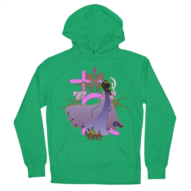 Princess Saturn Women's French Terry Pullover Hoody by MaruDashi's Artist Shop