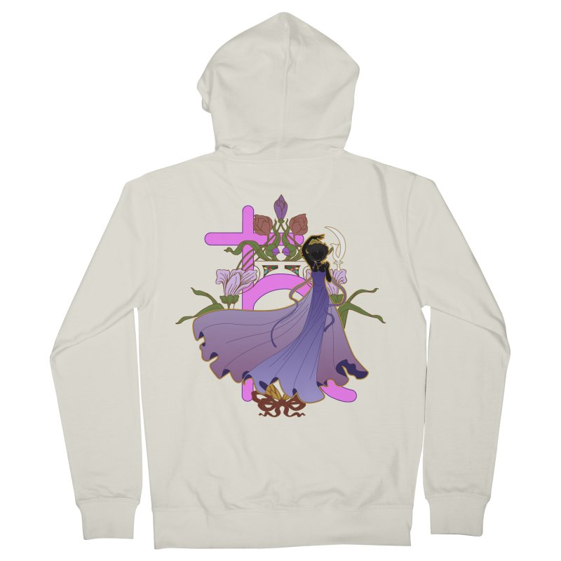 Princess Saturn Men's French Terry Zip-Up Hoody by MaruDashi's Artist Shop
