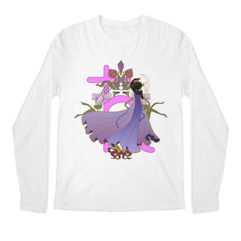 Princess Saturn Men's Regular Longsleeve T-Shirt by MaruDashi's Artist Shop