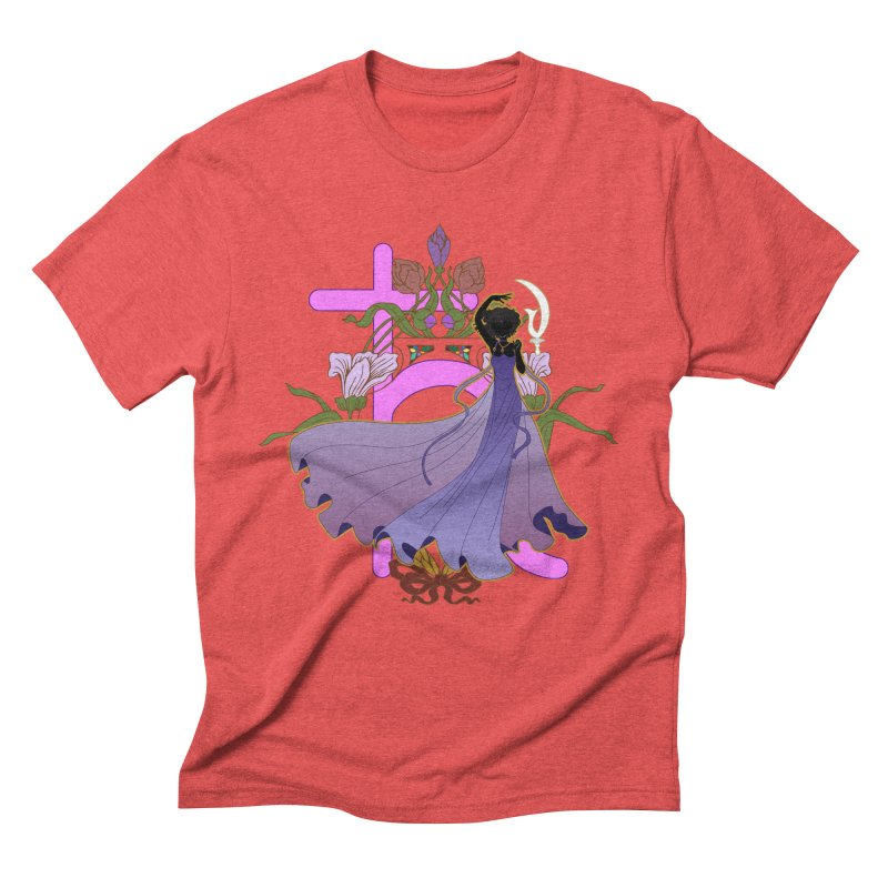 Princess Saturn Men's Triblend T-Shirt by MaruDashi's Artist Shop