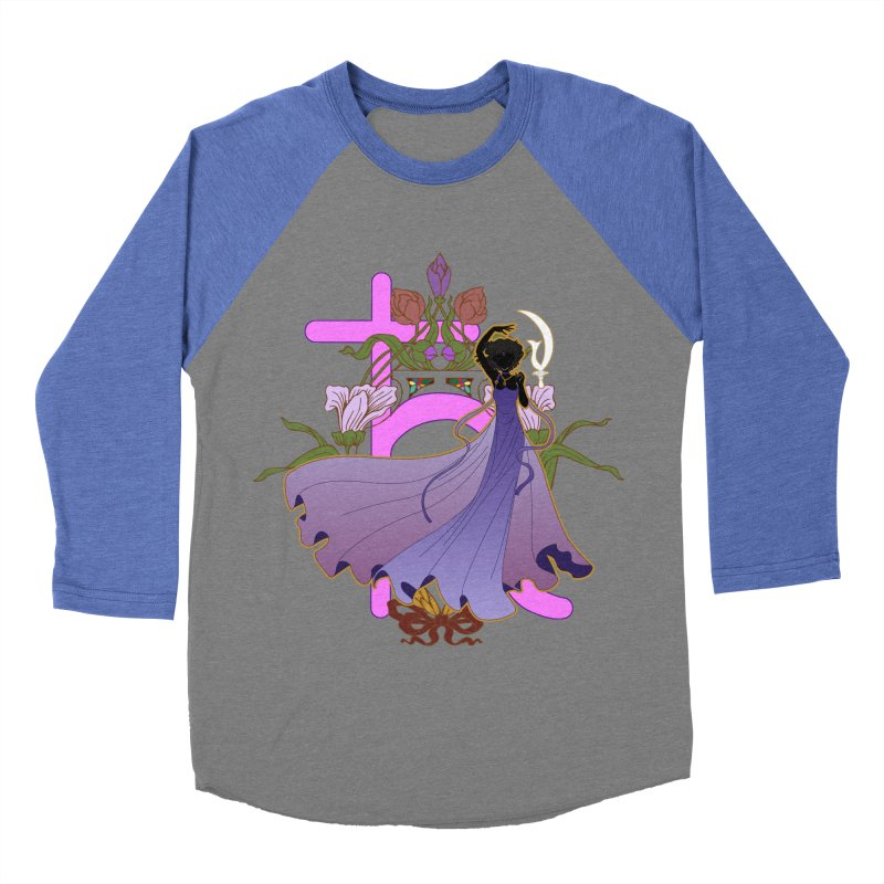 Princess Saturn Men's Baseball Triblend Longsleeve T-Shirt by MaruDashi's Artist Shop