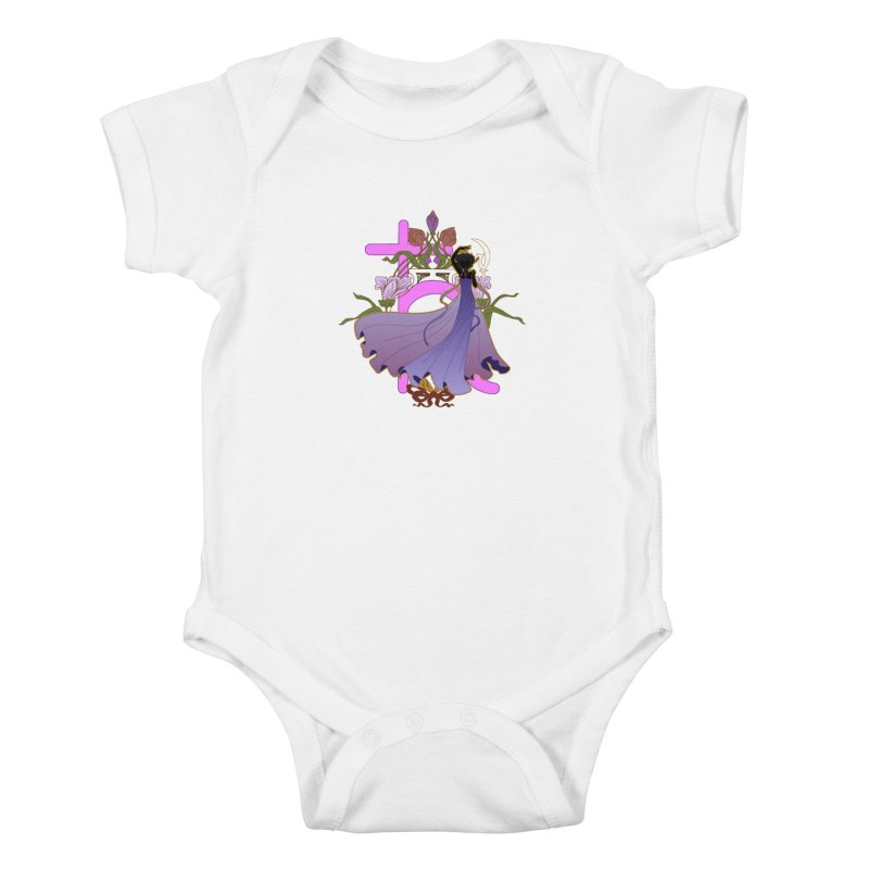 Princess Saturn Kids Baby Bodysuit by MaruDashi's Artist Shop