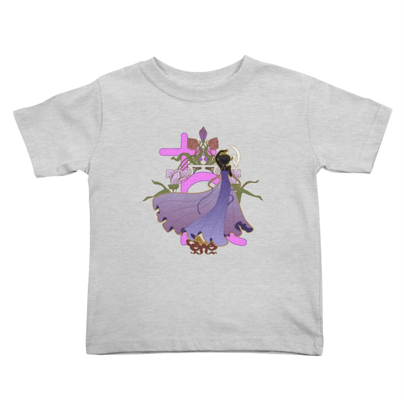 Princess Saturn Kids Toddler T-Shirt by MaruDashi's Artist Shop