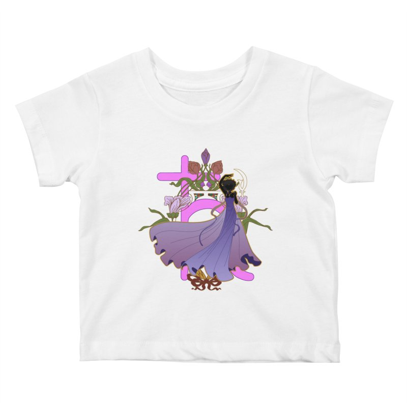 Princess Saturn Kids Baby T-Shirt by MaruDashi's Artist Shop