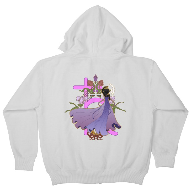 Princess Saturn Kids Zip-Up Hoody by MaruDashi's Artist Shop
