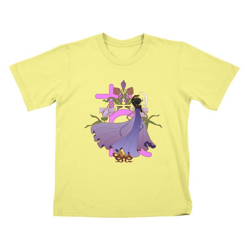 Princess Saturn Kids T-shirt by MaruDashi's Artist Shop